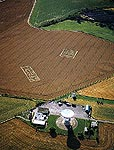 Crop Circle Field with codes